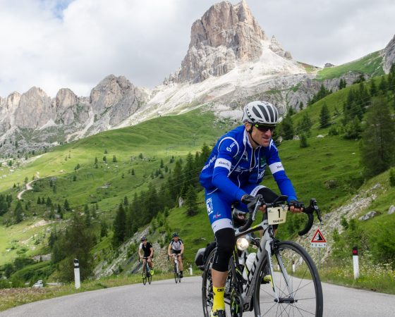 Nächstes Top- Ergebnis beim härtesten Ultra(Berg)- Radrennen D+ Dolomitica